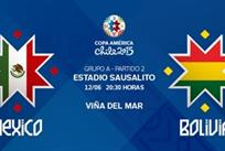 Копа Америка — 2015. Мексика — Боливия 0:0