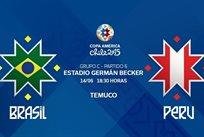 Копа Америка — 2015. Бразилия — Перу 2:1
