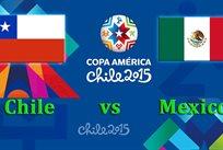 Копа Америка — 2015. Чили — Мексика 3:3