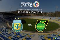 Копа Америка — 2015. Аргентина — Ямайка 1:0