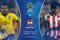 Копа Америка — 2015. Бразилия — Парагвай 1:1 (по пенальти — 3:4)