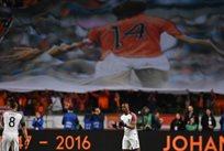 Трибуны Амстердам Арены на 14-й минуте матча Нидерланды-Франция, goal.com