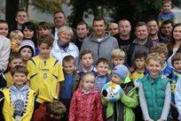 Андрей Шевченко на встрече с диаспорой, ffu.org.ua