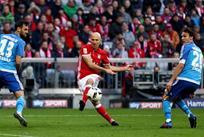 Бавария забила восемь голов Гамбургу, Getty Image