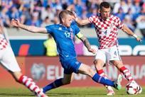 Исландия победила Хорватию, HNS