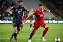Сербия и Уэльс разошлись миром, Getty Images