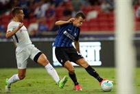 Иван Перишич забивает второй гол Интера в матче, Getty Images