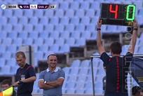 кадр из матча