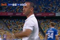 Хацкевич и Меликян поругались во время матча Динамо — Сталь
