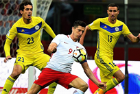 РОБЕРТ ЛЕВАНДОВСКИ ЗАБИЛ ОДИН ИЗ ГОЛОВ, TWITTER.COM/FIFAWORLDCUP