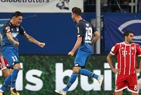 хоффенхайм празднует гол, twitter.com/achtzehn99