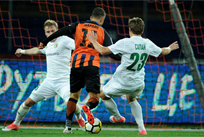 Марлос открыл счет в матче, ФК Шахтер