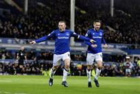 Уэйн Руни (слева), фото: twitter.com/Everton