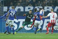 Гирасси забивает первый гол Кельна, Getty Images
