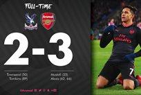 Кристал Пэлас - Арсенал, фото: twitter.com/Arsenal