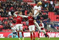 Харри Кейн открывает счет в матче, Getty Images