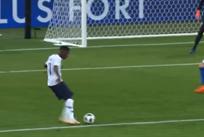 Классный гол Дембеле в ворота сборной Италии