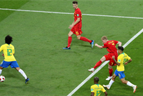 Де Брюйне удвоил преимущество бельгийцев, Getty Images