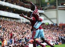 Вест Хэм после гола в ворота Ман Сити, Getty Images