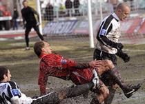 Вот такой он, весенний украинский футбол. Фото Football.ua