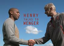 Тьерри Анри и Арсен Венгер, Sky Sports