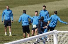 Реал готовится к игре, Reuters