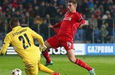 Хендерсон выводит Ливерпуль вперед, Getty Images