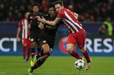 Атлетико имеет преимущество в два гола, Getty Images