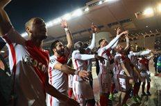 Монако отпраздновал победу над Сити, Getty Images