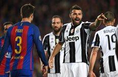 Ювентус выбил Барселону, Getty Images