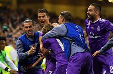 Радость игроков Реала, Getty Images