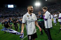 Бензема счастлив победе в Лиге чемпионов, Getty Images