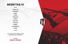 Составы команд, фото: twitter.com/BesiktasEnglish