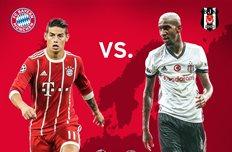 Бавария — Бешикташ: прогноз букмекеров на матч Лиги чемпионов