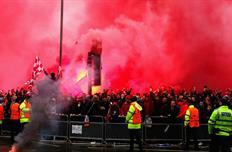 Болельщики перед матчем Ливерпуль - Рома, Getty Images