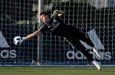 Андрей Лунин, фото: ФК Реал Мадрид