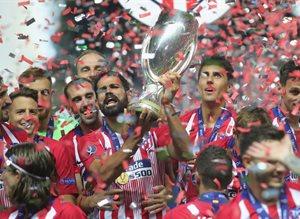 Атлетико - обладатель Суперкубка-2019, Getty Images