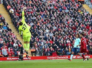 Лучший гол 34-го тура АПЛ в исполнении Мохамеда Салаха, Getty Images