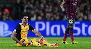 Диего Коста получил травму, Getty Images