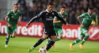 Роналду сравнивает счет с пенальти, фото Dimitar Dilkoff (AFP)