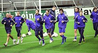 Динамо в Лиссабоне, фото fcdynamo.kiev.ua