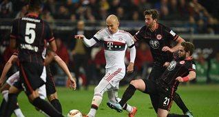 Айнтрахт и Бавария сыграли вничью, Getty Images