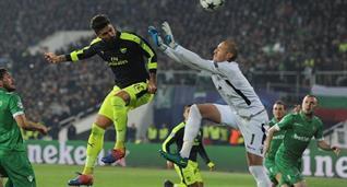 Жиру сравнял счет в матче, Getty Images