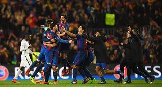 Барселона сумела отыграться в невероятном матче, Getty Images