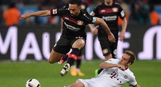 Байер с Баварией голов не забили, Getty Images