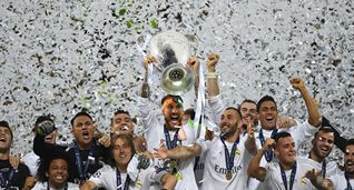 Реал после победного финала 2016-го года, Getty Images