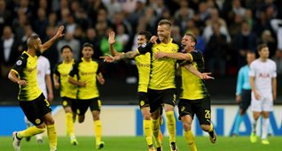 Ярмоленко празднует дебютный гол, Getty Images