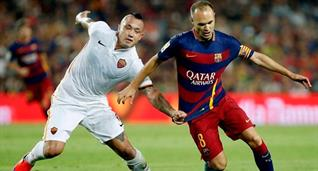 Барселона — Рома: онлайн-трансляция матча Лиги чемпионов