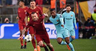 Рома - Барселона, twitter.com/OfficialASRoma