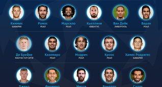Названа символическая сборная Лиги чемпионов сезона-2017/18